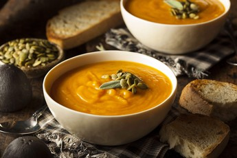 Winter Squash Soup with Pepitas